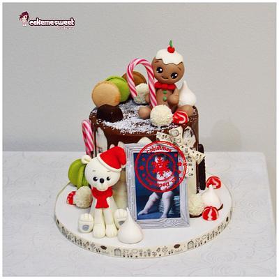 Christmas drip cake - Cake by Naike Lanza