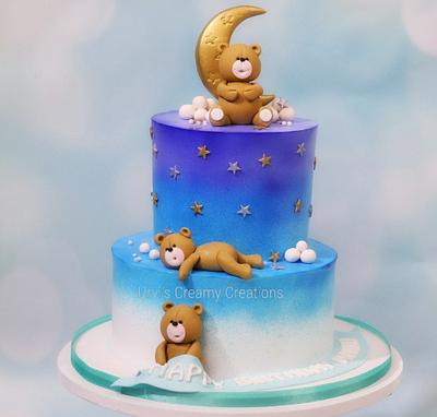 Teddy birthday cake - Cake by Urvi Zaveri