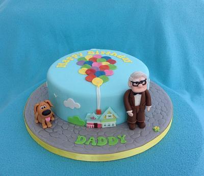 Up birthday cake - Cake by Deborah Cubbon (the4manxies)