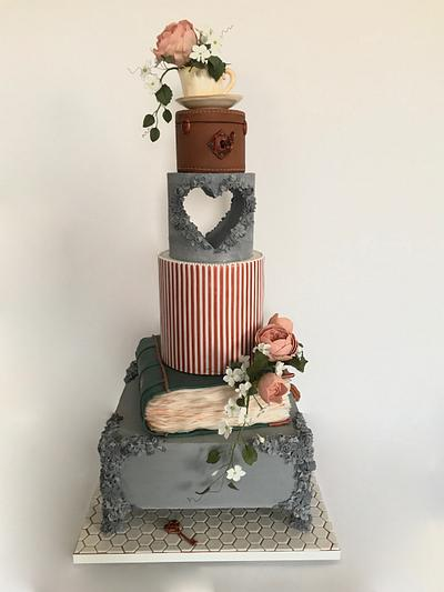 Wedding Cake for Cake International London 2019 - Cake by Anna Augustyniak