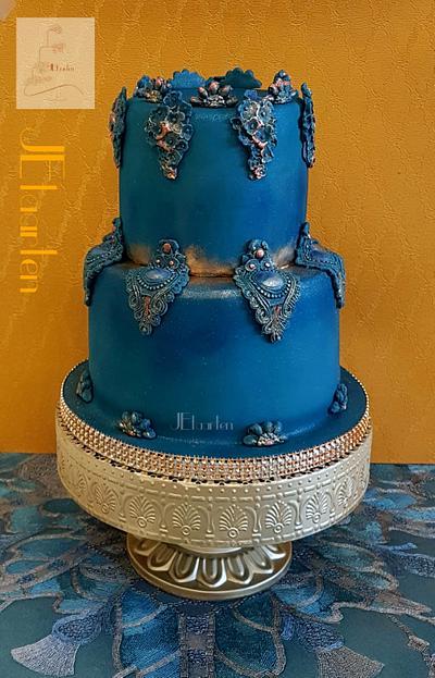 Royal Blue - Cake by Judith-JEtaarten