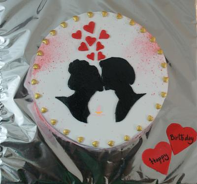Love is in the air..... - Cake by Sheeba