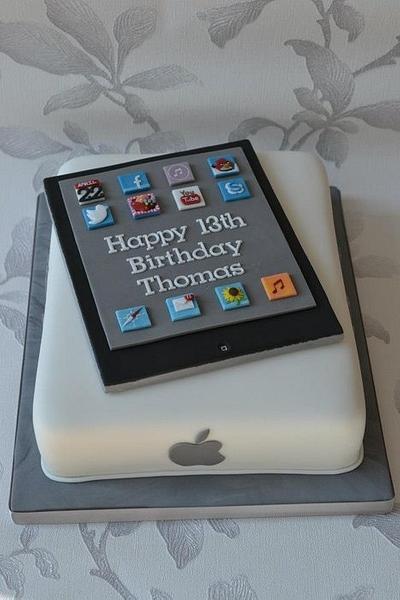 iPad cake - Cake by AMAE - The Cake Boutique