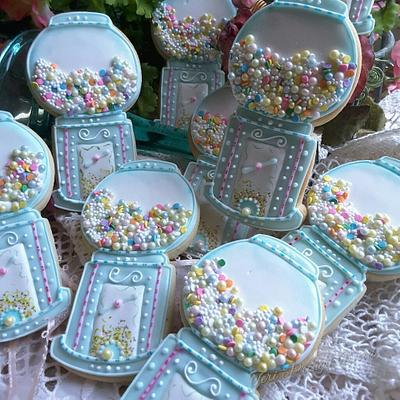 Gumballs with a softness  - Cake by Teri Pringle Wood