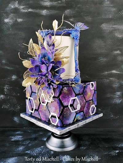 """Galaxy"" cake - Cake by Mischell"
