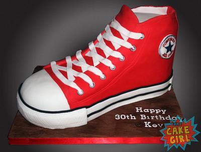 Converse Shoe - Cake by Rachel White