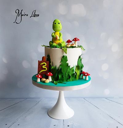Dino - Cake by Maira Liboa