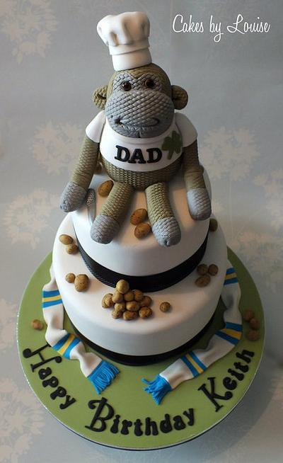 PG Tips Monkey Cake - Cake by Louise Jackson Cake Design