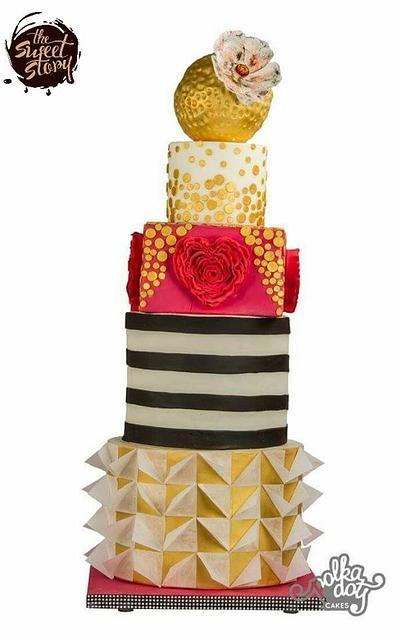 Modern Wedding Cake - Cake by The Sweet Story