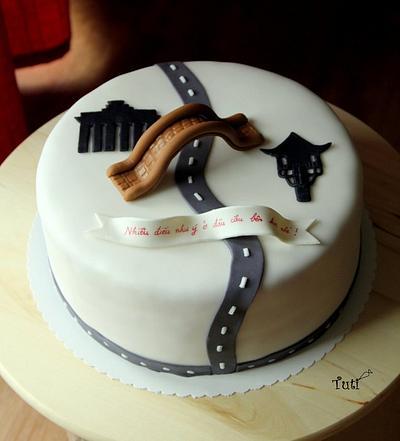 farewell cake - Cake by tuti