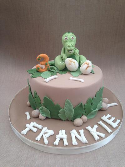 Dinosaur Cake - Cake by LittlesugarB