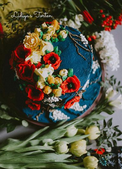 Blumen  - Cake by Lidiya Petrova