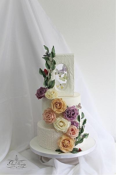 *Live love* - Cake by Ana Marija cakes