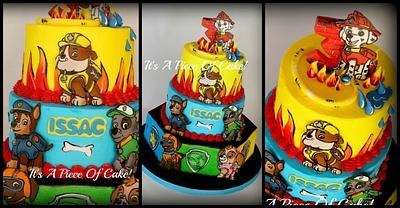 Paw Patrol Cake - Cake by Rebecca