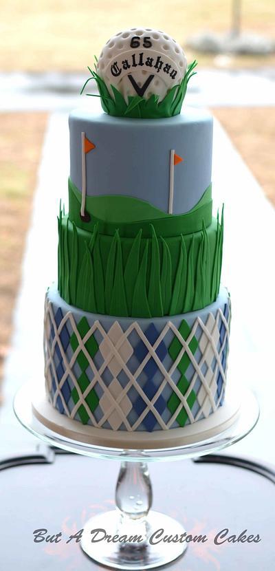Golf ball birthday cake - Cake by Elisabeth Palatiello