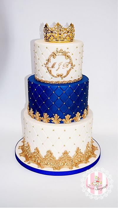 A Royal cake for a little prince  - Cake by Sweet Surprizes