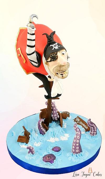 Sugar Pirates - HMS Unsinkable - Cake by lisajaynecakes