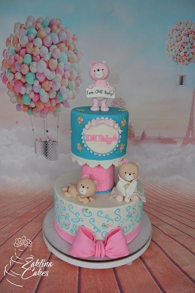 Sweet bear cake - Cake by Zaklina