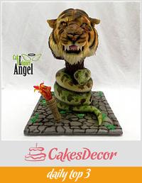 "Cake ""The Jungle Book"""