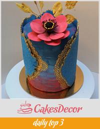 Sugar sheet cake