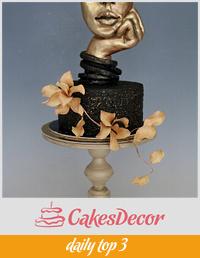 Sculpture cake