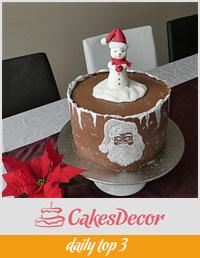 Christmas cake 🎅
