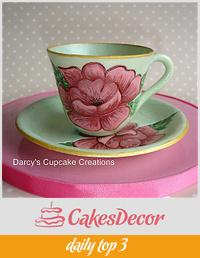 sugar teacup and saucer