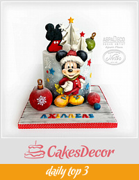 """Christmas Mickey"""
