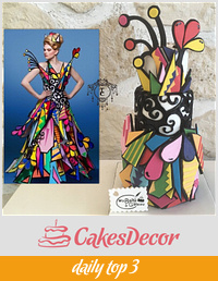 Couture Cakers International 2018 collaboration : Colors