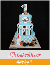 Milk & Cookies 1st Birthday
