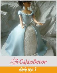 butterfly embossed princess