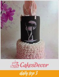 The Ballerina Cake