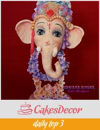 Ganesha Happy Holi
