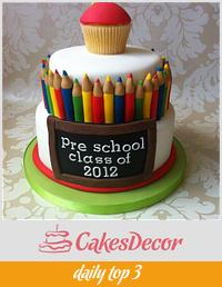 a pre school leaving cake!