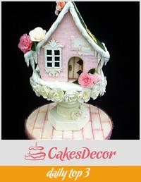 CAKE INTERNATIONAL LONDON - FAIRY HOUSE BRONZE MEDAL