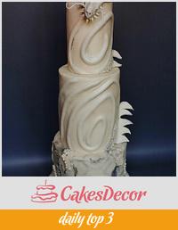 Dragon -Avant-garde cake challenge
