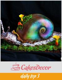 Fairy Snail Cake