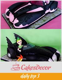 Monster High 3D Car Cake