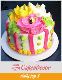 My First Flower Cake