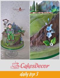 Tramp cake