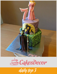 Sleeping Beauty, Maleficent Cake.
