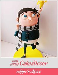 Gru 3D Cake
