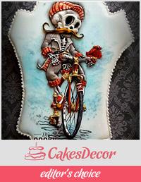 Sugar Skull Collaboration - 2017 - Cycling till I die....