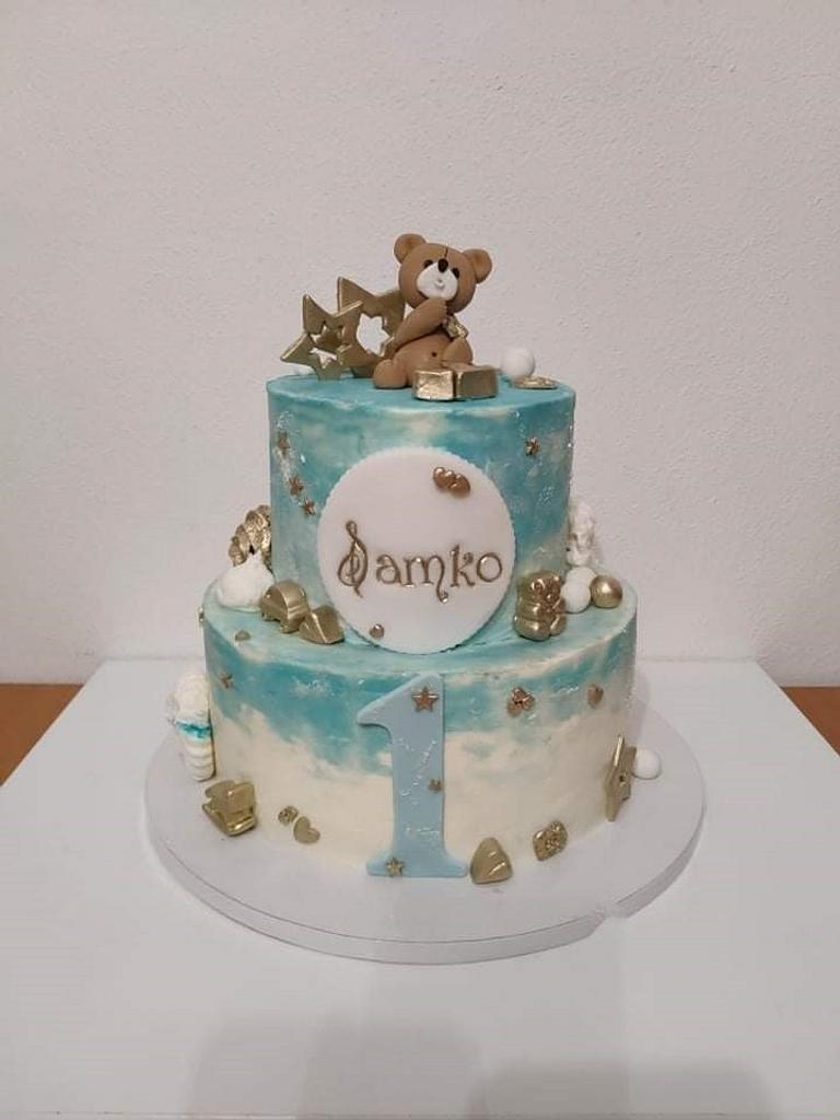 1st bithday by Framona cakes ( Cakes by Monika)