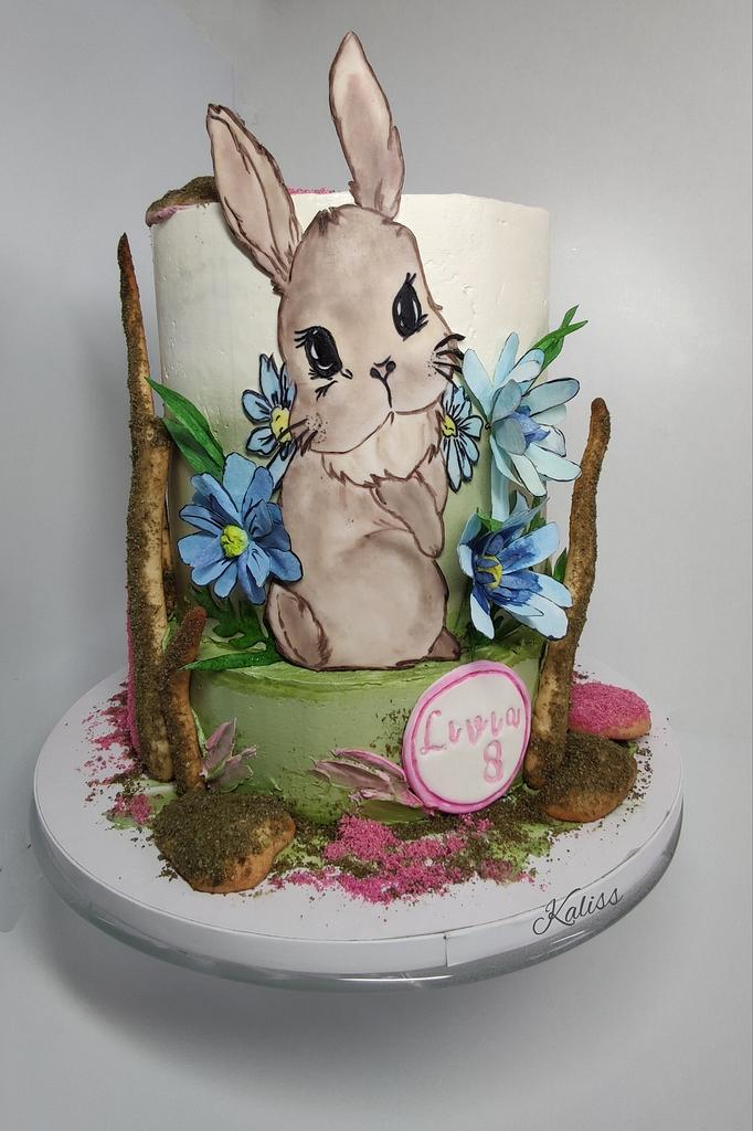 Bday bunny  by Kaliss