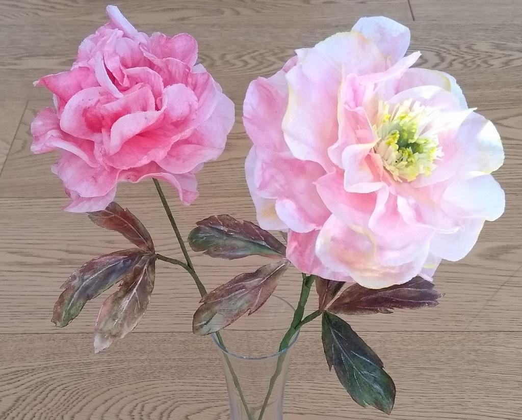 Peony flowers by Clara