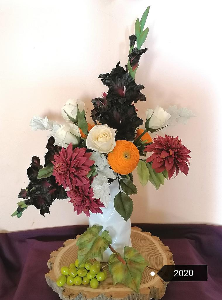 My sugar flowers  by Mód Lajosné