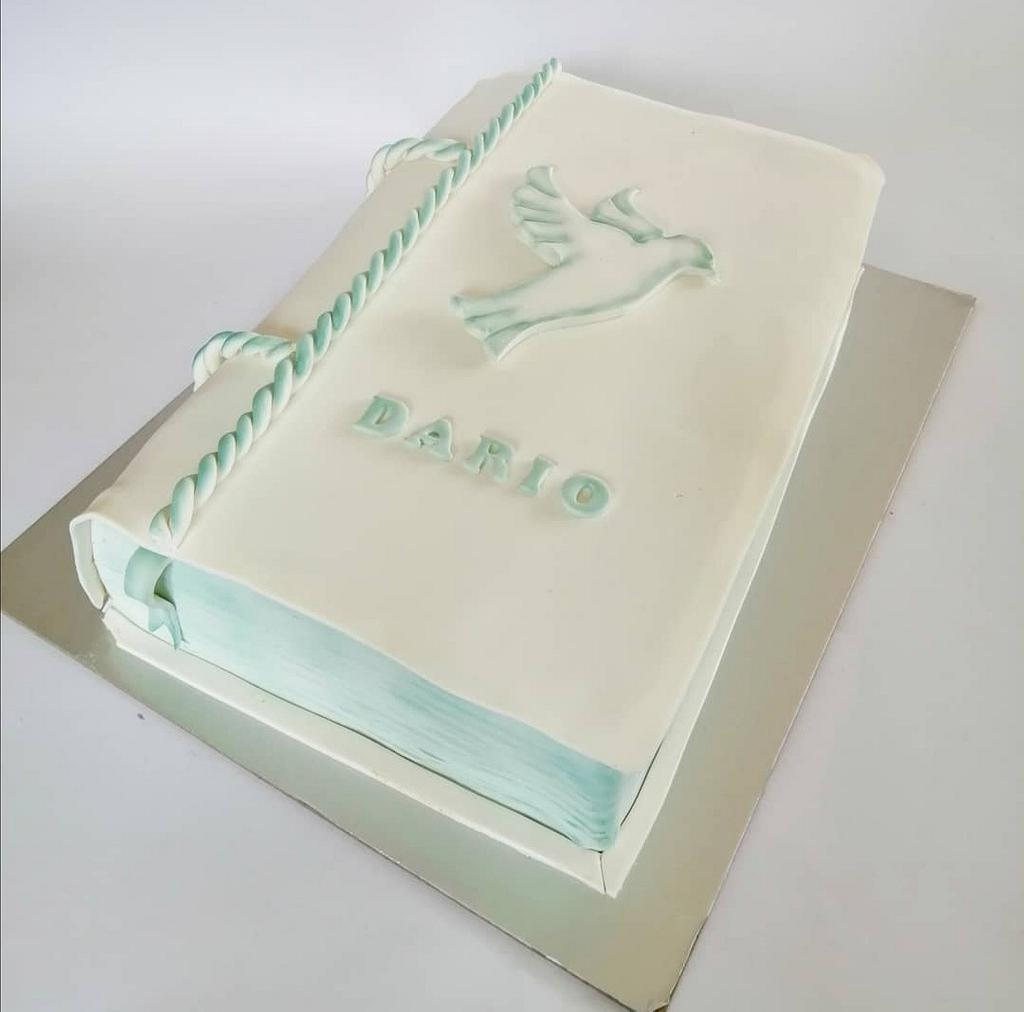 Confirmation bible cake by Tortebymirjana