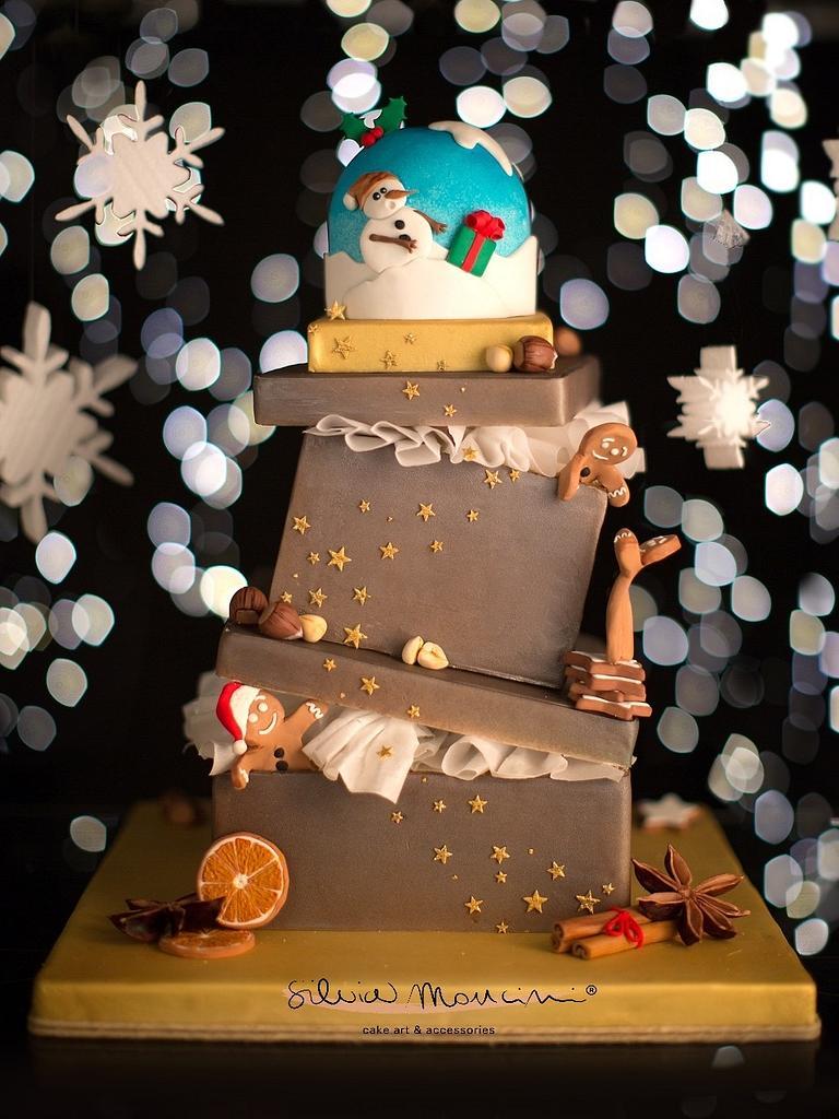 Sweet Christmas by Silvia Mancini Cake Art