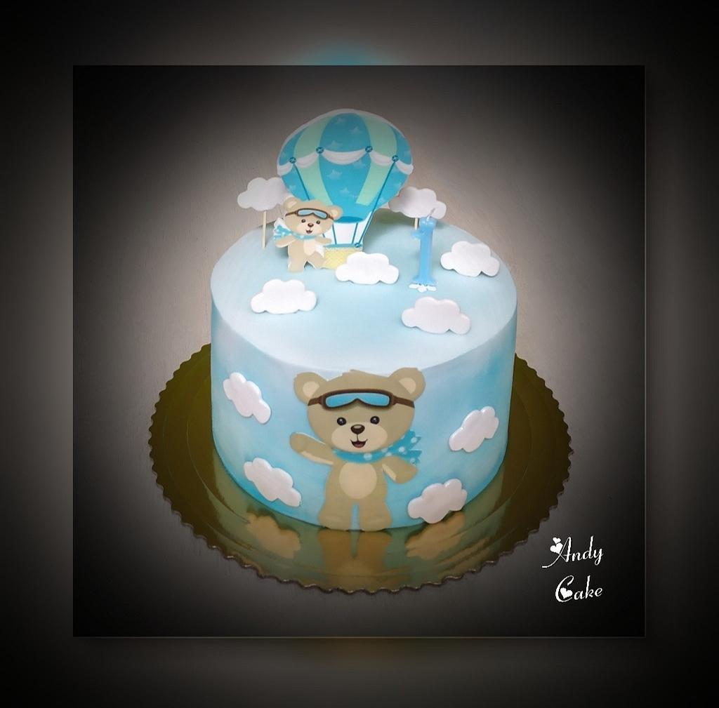 Birthday cake by AndyCake